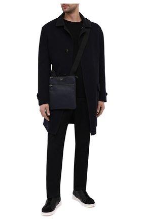 Мужская сумка stepan SERAPIAN темно-синего цвета, арт. SRSTPMML679423C | Фото 2