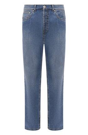 Мужские джинсы LANVIN синего цвета, арт. RM-TR0053-DZ06-P21 | Фото 1