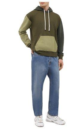 Мужские джинсы LANVIN синего цвета, арт. RM-TR0053-DZ06-P21   Фото 2
