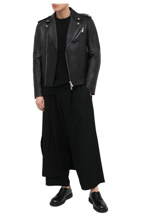 Мужские кожаные дерби MARSELL черного цвета, арт. MM3110/PELLE VITELL0 | Фото 2