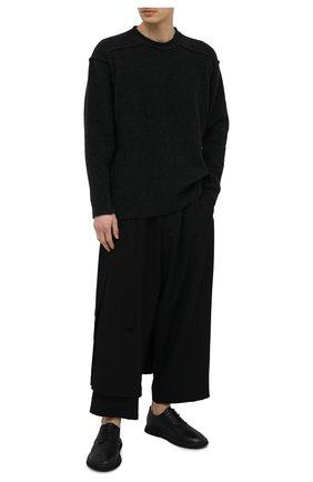 Мужские кожаные дерби MARSELL черного цвета, арт. MM3101/PELLE V0L0NATA | Фото 2