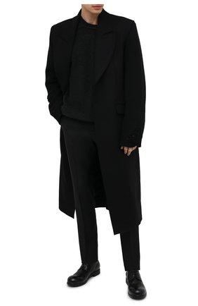 Мужские кожаные дерби MARSELL черного цвета, арт. MM2443/PELLE V0L0NATA | Фото 2