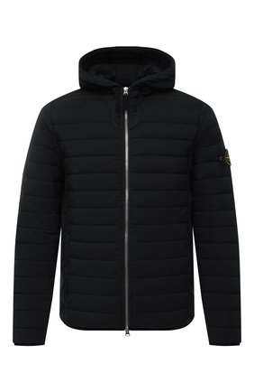 Мужская пуховая куртка STONE ISLAND черного цвета, арт. 741544525 | Фото 1