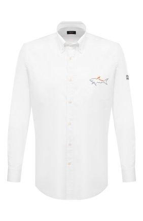Мужская комплект из рубашки и маски PAUL&SHARK белого цвета, арт. 21413464/C00 | Фото 1