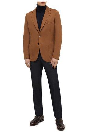 Мужской пиджак из шерсти и кашемира LORO PIANA темно-бежевого цвета, арт. FAF5307/VVIC | Фото 2