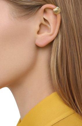 Женские кафф LANVIN золотого цвета, арт. AW-CJYA0C-ARPE-A20 | Фото 2