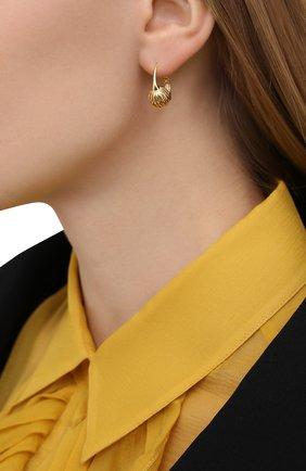 Женские серьги LANVIN золотого цвета, арт. AW-CJYA0D-ARPE-A20 | Фото 2