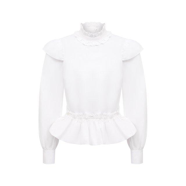 Хлопковая блузка Ganni
