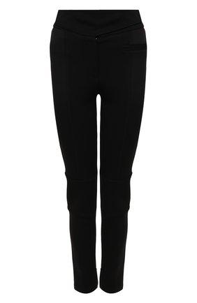 Женские брюки BURBERRY черного цвета, арт. 8037318 | Фото 1