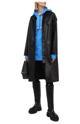 Женские брюки BURBERRY черного цвета, арт. 8037318 | Фото 2