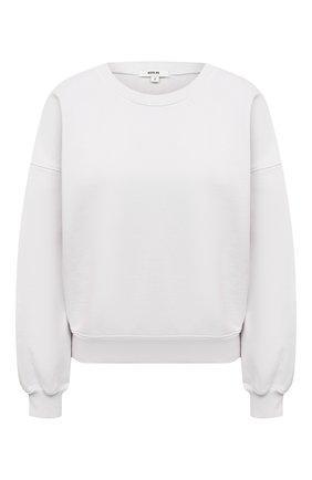 Женский хлопковый свитшот AGOLDE белого цвета, арт. A7059 | Фото 1