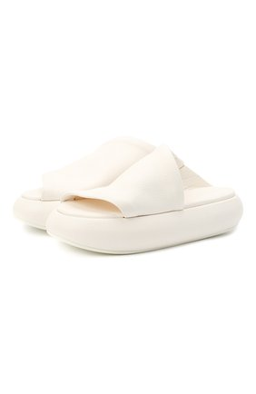 Женские кожаные шлепанцы MARSELL белого цвета, арт. MW4756/PELLE V0L0NATA | Фото 1