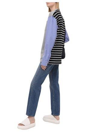 Женские кожаные шлепанцы MARSELL белого цвета, арт. MW4756/PELLE V0L0NATA | Фото 2