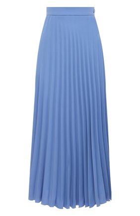 Женская плиссированная юбка MM6 голубого цвета, арт. S52MA0128/S43455 | Фото 1