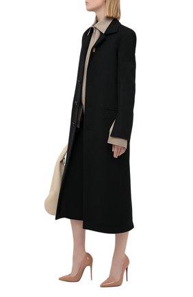 Женские кожаные туфли so kate 120 CHRISTIAN LOUBOUTIN бежевого цвета, арт. 3130694/S0 KATE 120 | Фото 2