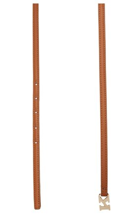 Женский кожаный ремень KITON коричневого цвета, арт. DCK12L0X04R81 | Фото 2 (Материал: Кожа)
