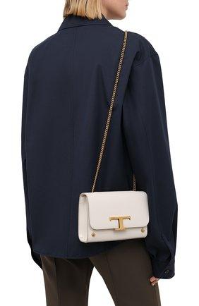 Женская сумка tsi TOD'S белого цвета, арт. XBWTSID0000R0R   Фото 2