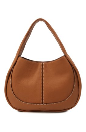 Женская сумка aou TOD'S коричневого цвета, арт. XBWA0US0300UCA   Фото 1