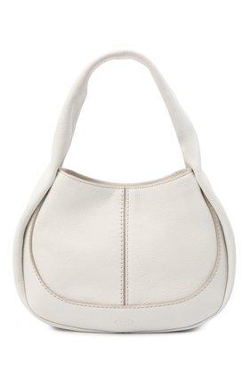 Женская сумка aou TOD'S белого цвета, арт. XBWA0US0200UCA   Фото 1