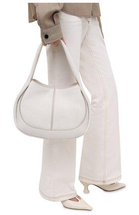 Женская сумка aou TOD'S белого цвета, арт. XBWA0US0200UCA   Фото 2