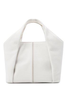 Женский сумка-шопер aou TOD'S белого цвета, арт. XBWA0UA0200UCA   Фото 1