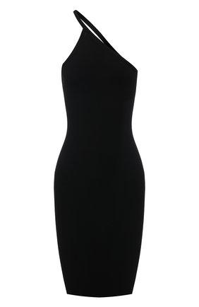 Женское платье DSQUARED2 черного цвета, арт. S75CV0369/S17605 | Фото 1