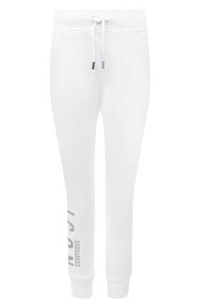 Женские хлопковые джоггеры DSQUARED2 белого цвета, арт. S80KA0009/S25042 | Фото 1