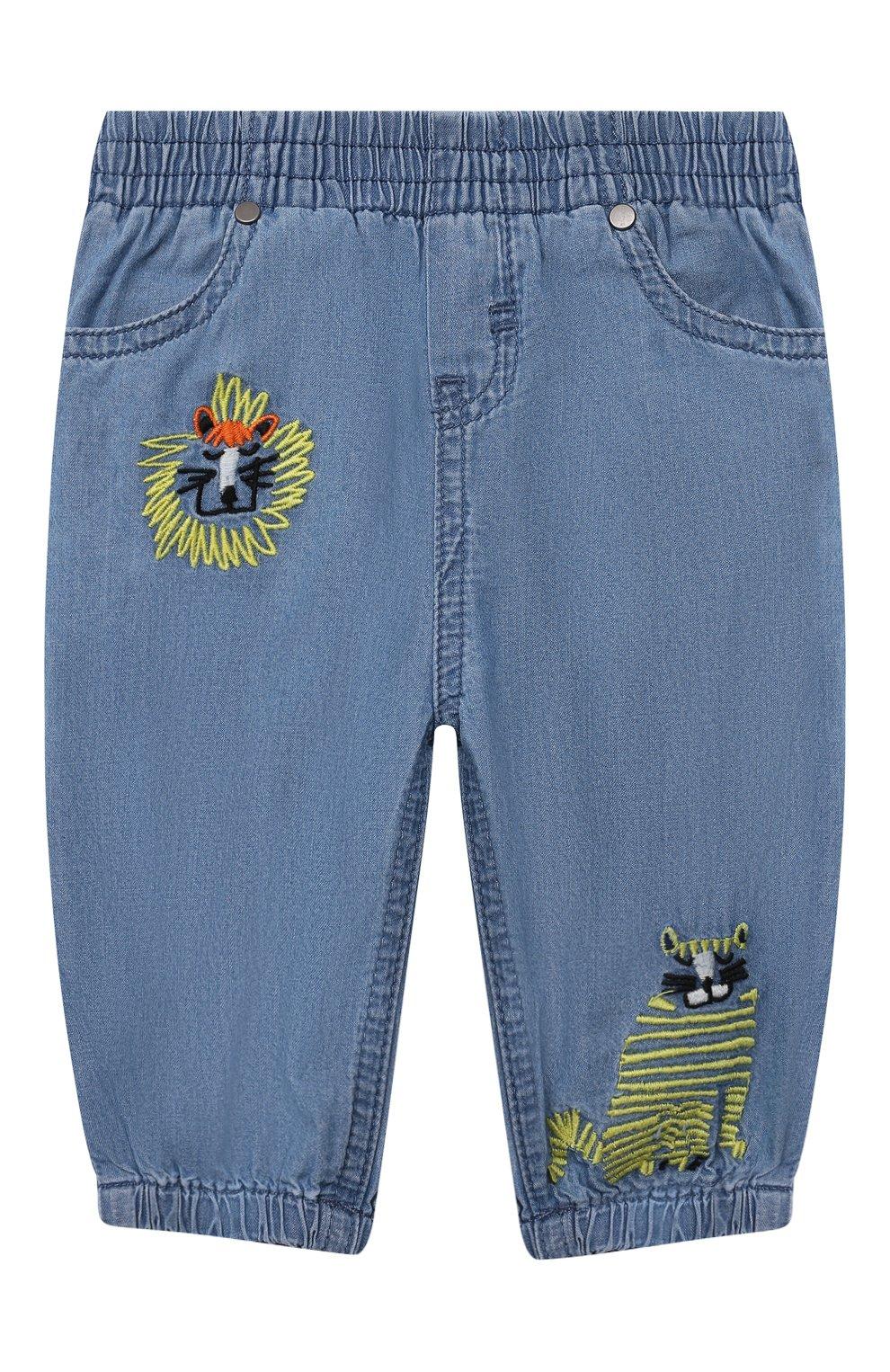 Детские джинсы STELLA MCCARTNEY синего цвета, арт. 602372/SQK16   Фото 1