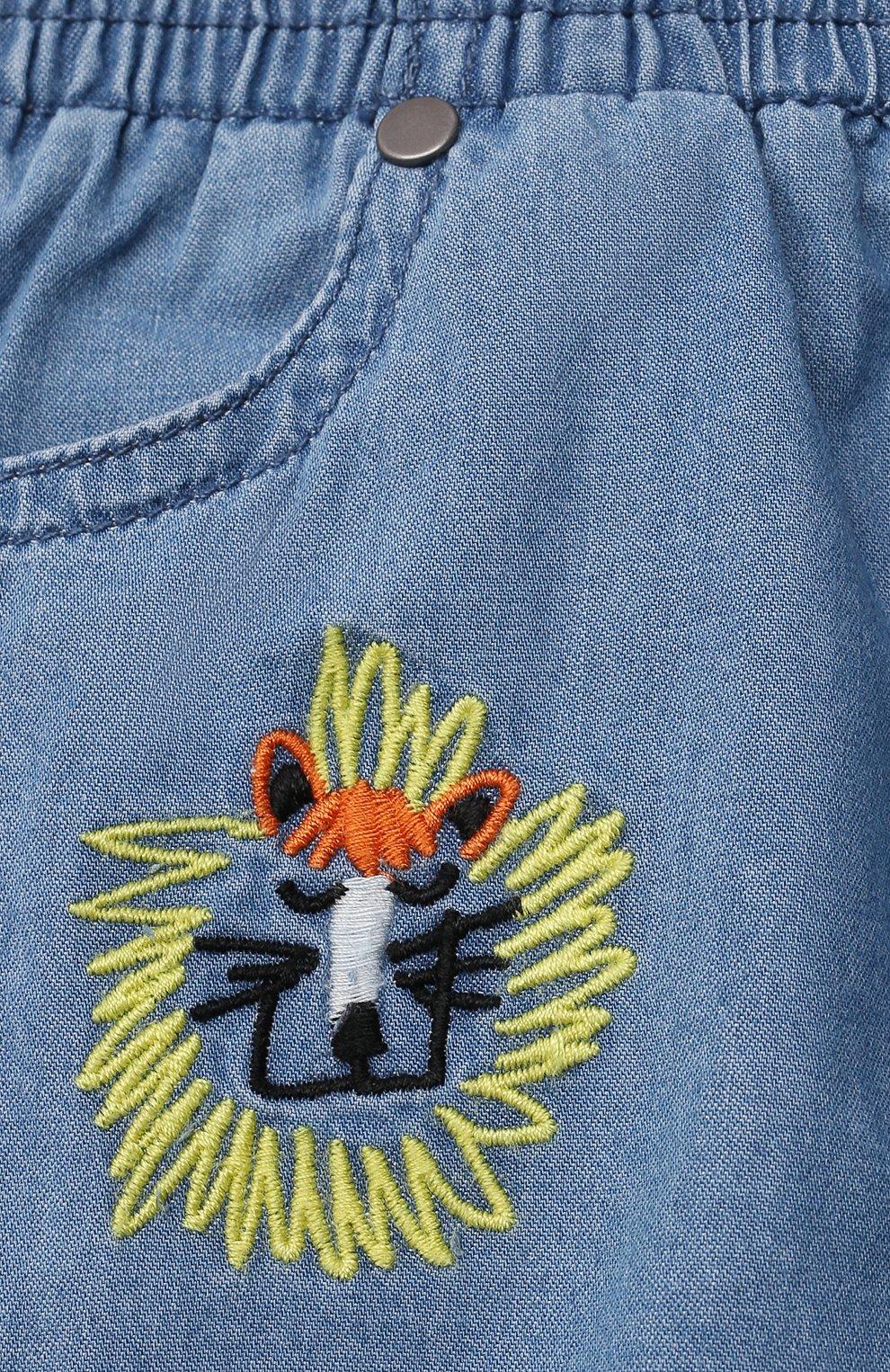 Детские джинсы STELLA MCCARTNEY синего цвета, арт. 602372/SQK16   Фото 3
