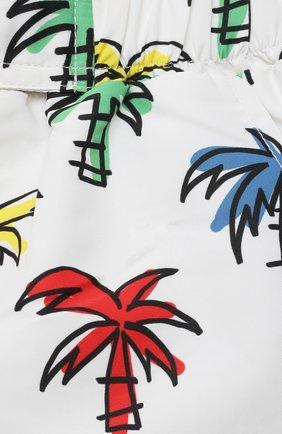 Детского плавки-шорты STELLA MCCARTNEY белого цвета, арт. 602359/SQK35 | Фото 3