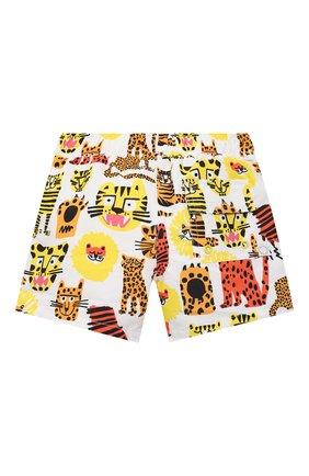 Детского плавки-шорты STELLA MCCARTNEY разноцветного цвета, арт. 602359/SQK34 | Фото 2