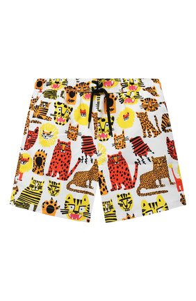 Детские плавки-шорты STELLA MCCARTNEY разноцветного цвета, арт. 602342/SQK34 | Фото 1