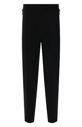 Мужские шерстяные брюки DSQUARED2 черного цвета, арт. S74KB0485/S40320   Фото 1