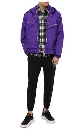 Мужские шерстяные брюки DSQUARED2 черного цвета, арт. S74KB0485/S40320   Фото 2