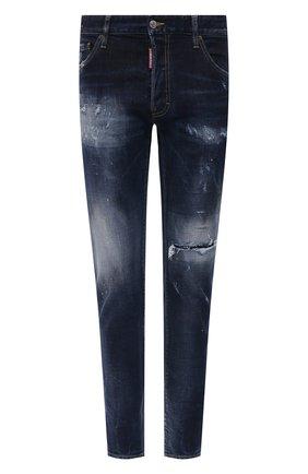 Мужские джинсы DSQUARED2 темно-синего цвета, арт. S74LB0932/S30664   Фото 1