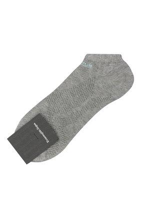 Мужские носки ERMENEGILDO ZEGNA светло-серого цвета, арт. N5V024040 | Фото 1