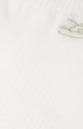 Мужские носки ERMENEGILDO ZEGNA белого цвета, арт. N5V024040 | Фото 2