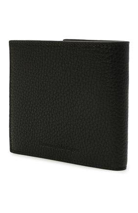 Мужской кожаное портмоне ERMENEGILDO ZEGNA черного цвета, арт. E1155W-LHDAI | Фото 2