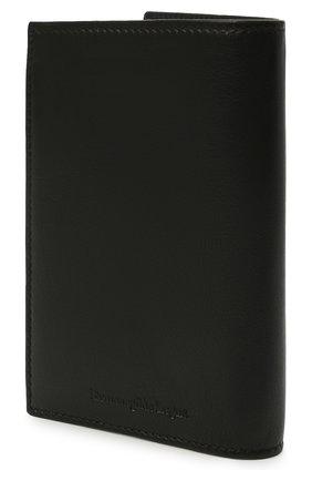 Мужской кожаная обложка для паспорта ERMENEGILDO ZEGNA черного цвета, арт. E1448W-LHNAC | Фото 2