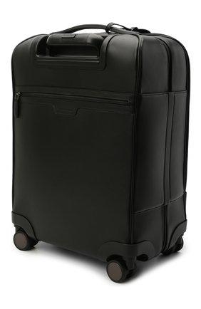 Мужской кожаный чемодан ERMENEGILDO ZEGNA черного цвета, арт. C1501P-LHPTA | Фото 2