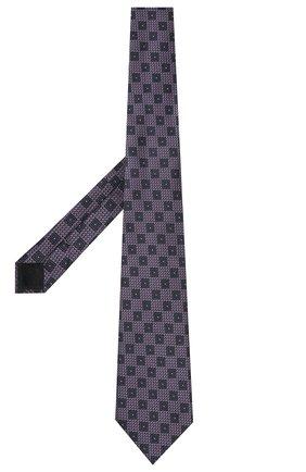 Мужской шелковый галстук ERMENEGILDO ZEGNA сиреневого цвета, арт. Z9D82/1XW | Фото 2