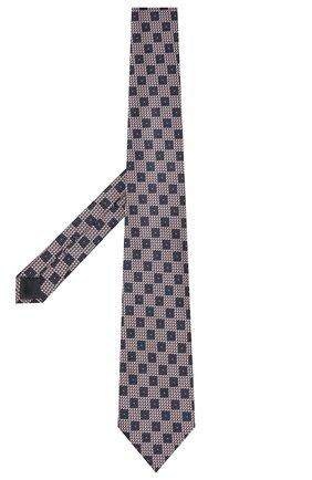 Мужской шелковый галстук ERMENEGILDO ZEGNA розового цвета, арт. Z9D86/1XW | Фото 2