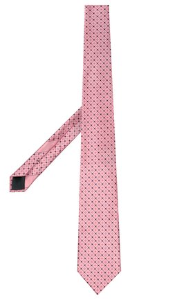 Мужской шелковый галстук ERMENEGILDO ZEGNA розового цвета, арт. Z9E24/100 | Фото 2