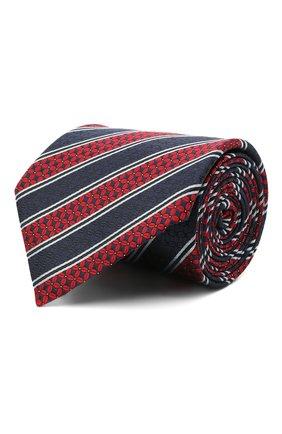 Мужской шелковый галстук ERMENEGILDO ZEGNA красного цвета, арт. Z9W07/1UM | Фото 1