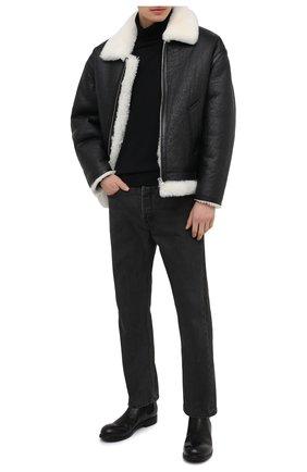 Мужские кожаные челси MARSELL черного цвета, арт. MM2440/PELLE V0L0NATA | Фото 2