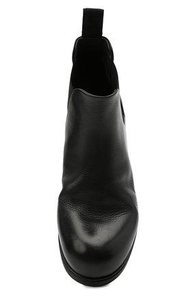 Мужские кожаные челси MARSELL черного цвета, арт. MM2440/PELLE V0L0NATA   Фото 5 (Материал внутренний: Натуральная кожа; Подошва: Плоская; Мужское Кросс-КТ: Сапоги-обувь, Челси-обувь)