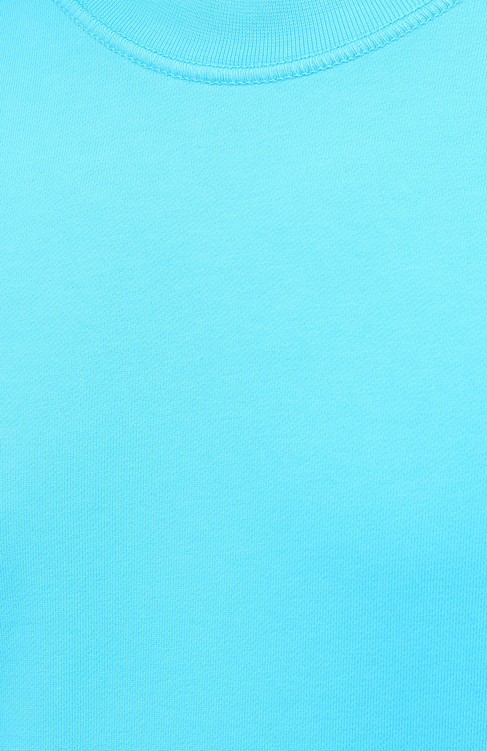 Мужской хлопковый свитшот STONE ISLAND бирюзового цвета, арт. 741563051 | Фото 5 (Рукава: Длинные; Принт: Без принта; Длина (для топов): Стандартные; Мужское Кросс-КТ: свитшот-одежда; Материал внешний: Хлопок; Стили: Кэжуэл)