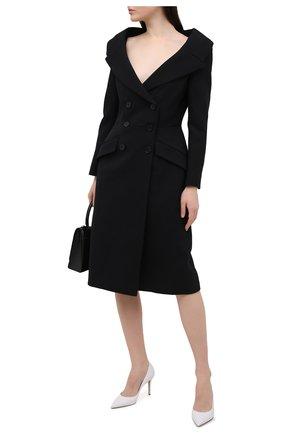 Женские кожаные туфли LE SILLA белого цвета, арт. 2101M080R1PPMIN | Фото 2