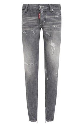 Женские джинсы DSQUARED2 серого цвета, арт. S75LB0446/S30260   Фото 1
