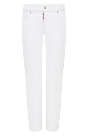 Женские джинсы DSQUARED2 белого цвета, арт. S75LB0468/S39781 | Фото 1